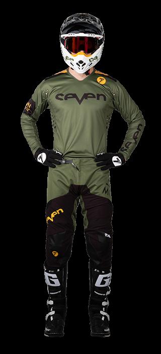 Комплект форми Seven MX RIVAL TROOPER OLIVE 28