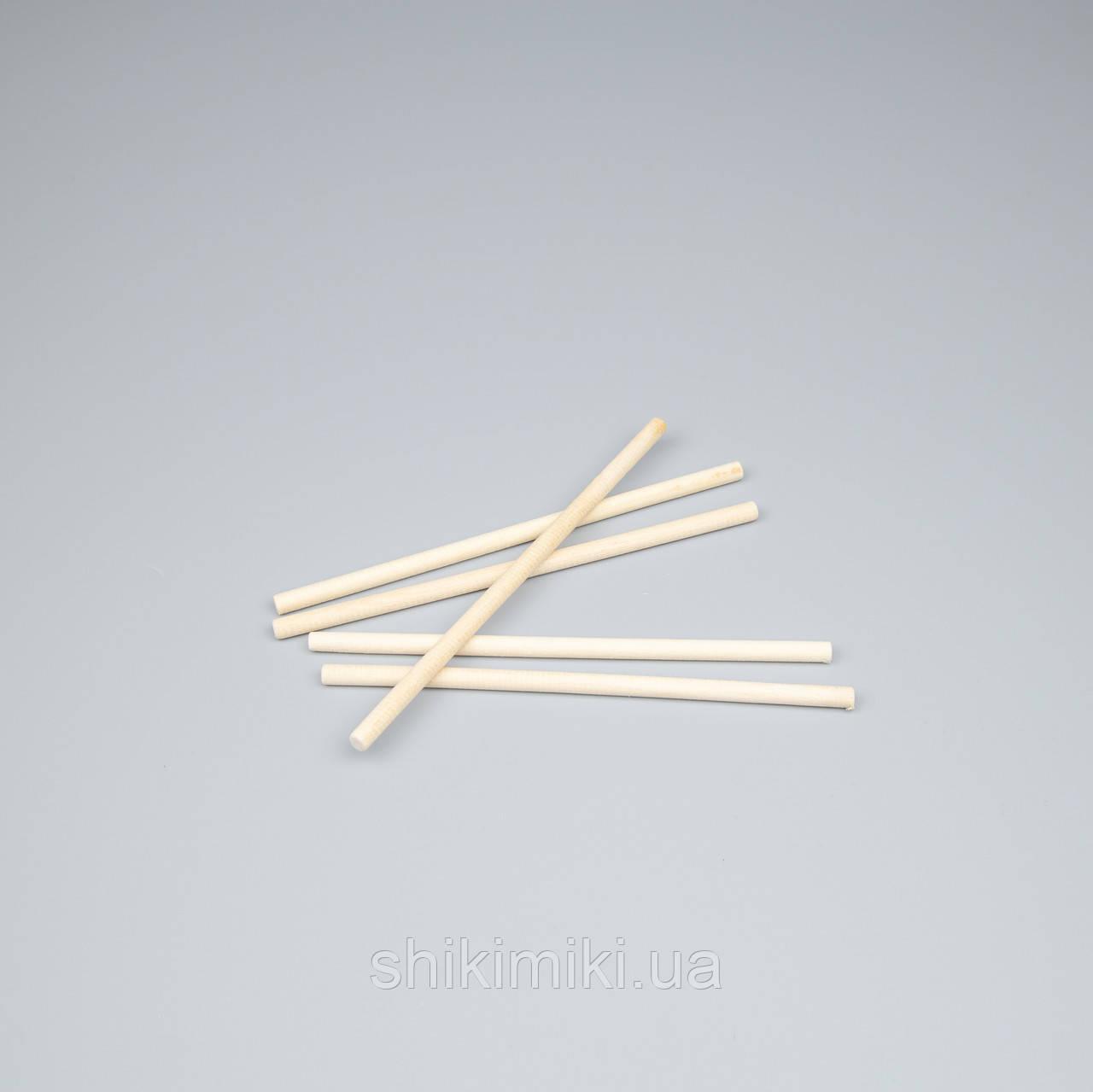 Палочки деревянные для макраме,150*0,6 мм