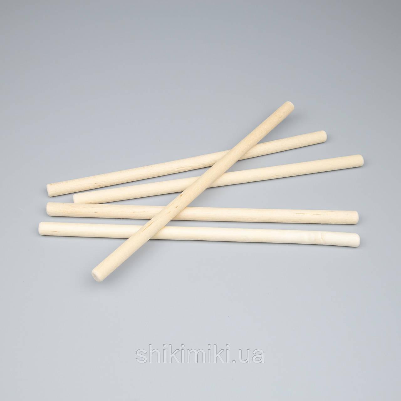 Палочки деревянные для макраме,250*10 мм