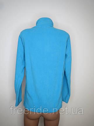 Женская флисовая кофта Crivit (L) 44/46 голубая, фото 2