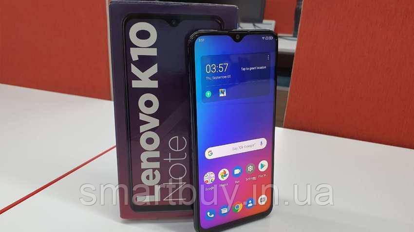 Lenovo K10 Note 4/64GB Black (гарантия 12 месяцев)