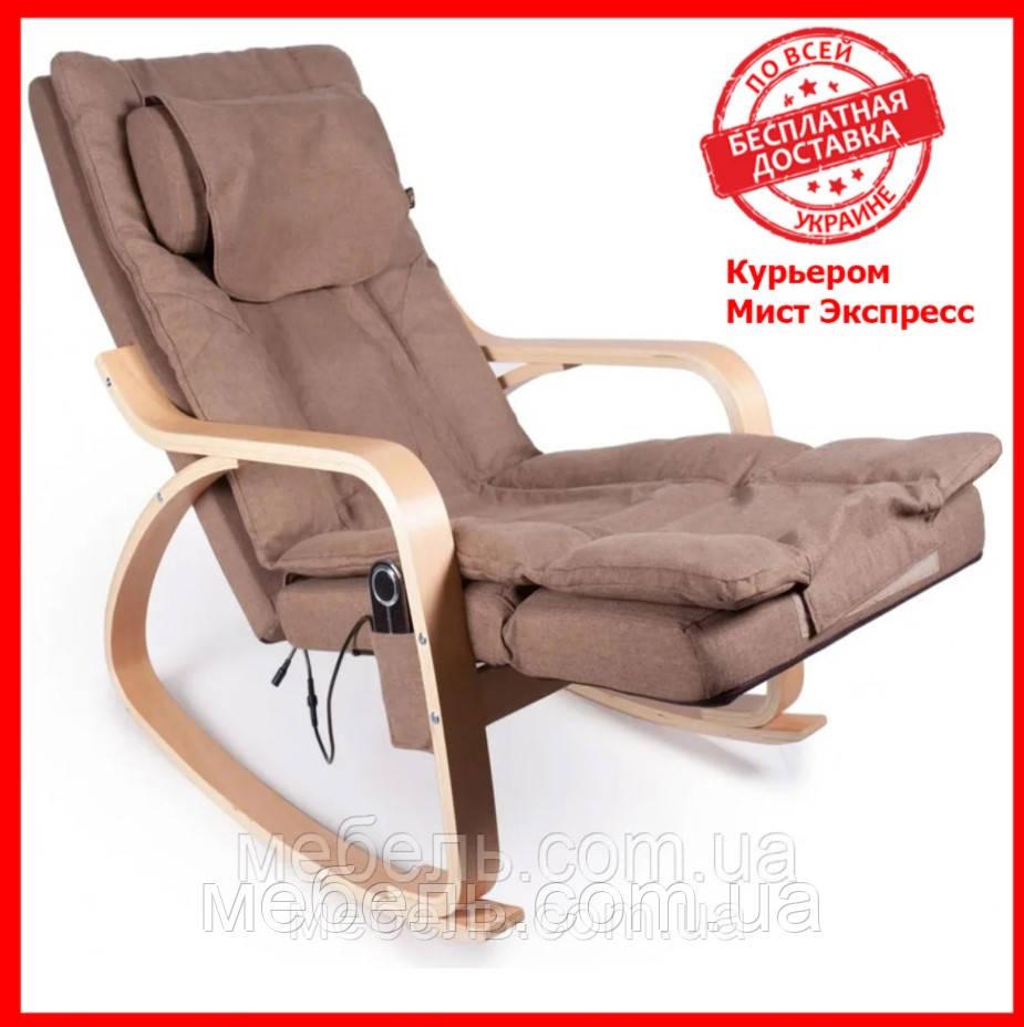 Массажное кресло Barsky VRM-02 VR Massage, коричневый