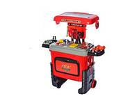 Детский столик чемодан с набором инструментов,игровой набор для мальчика, 3602А
