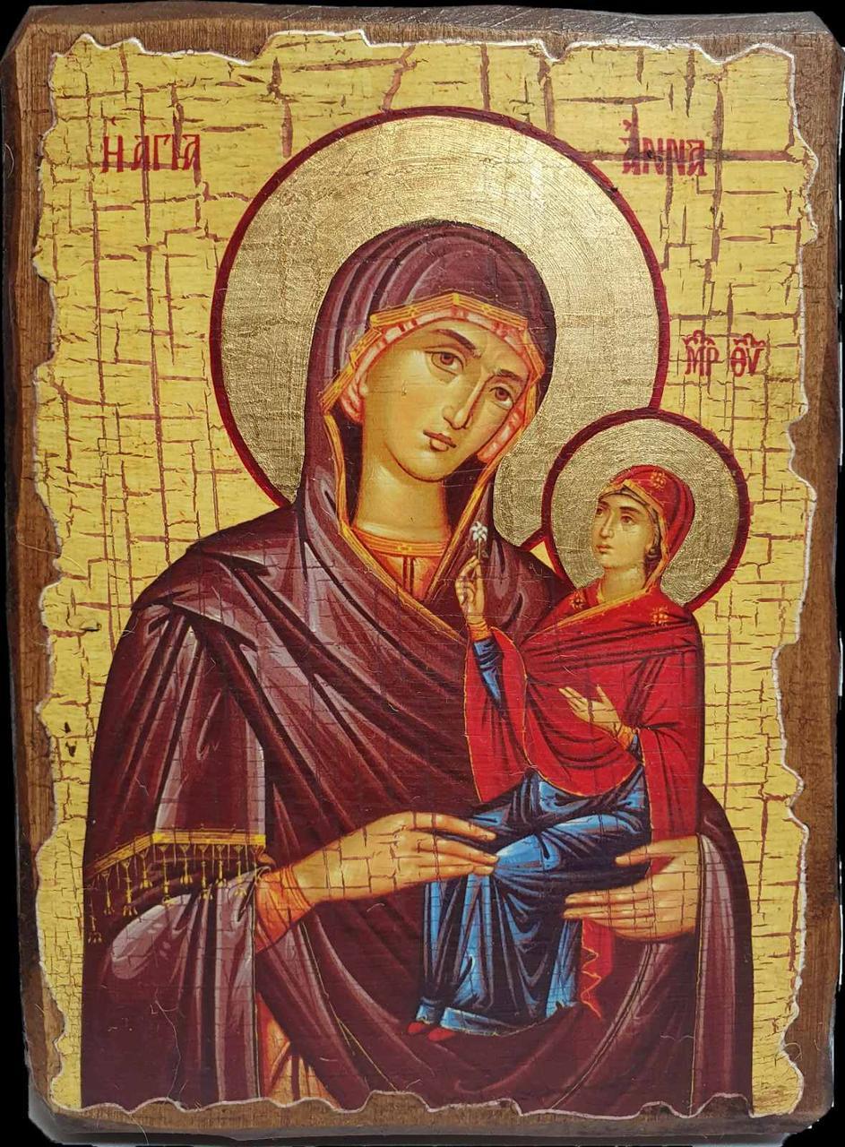 Икона Анна Праведная