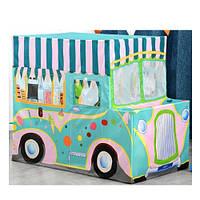 Намет MR 0377 машина,кафе-морож, 118-70-99см, 1вхід на зав'язках, вікно-сітка, кор., 50-15,5-8см