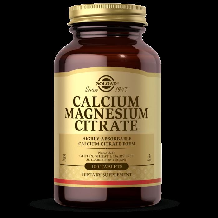 Кальций магний Solgar Calcium Magnesium Citrate (100 таб) солгар