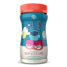 Кальцій для дітей Солгар Solgar U-Cubes children's Calcium with D3 (60 жувачек) солгар