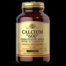 Кальций Д3 Solgar Calcium 600 with vit D3 (60 таб) солгар