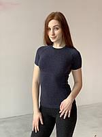 Женская термофутболка с шерстью
