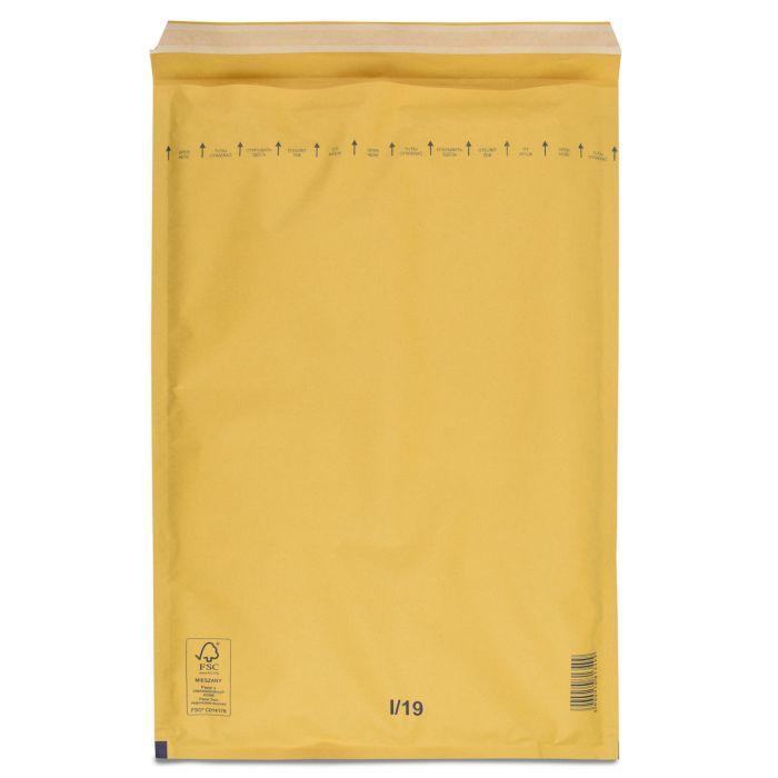 Конверт бандерольный 19 (300x445) крафт коричневый с отрывной лентой - 50 шт