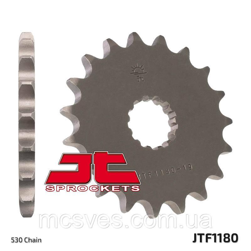 Зірка сталева передня JT Sprockets JT JTF1180.19