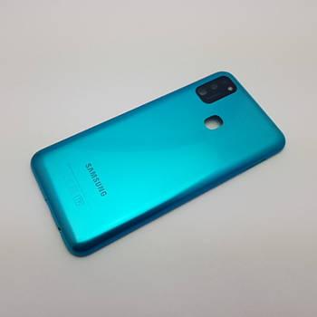 Крышка Samsung M21 (SM-M215) Green Сервисный оригинал с разборки
