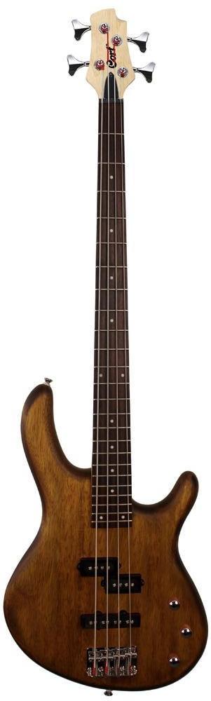 Бас-гитара CORT Action PJ (Open Pore Walnut)