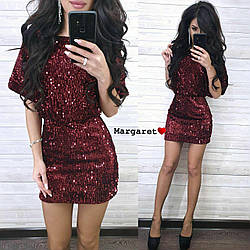 Элегантное бархатное платье с пайетками It сouldn't be better!