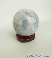 Шар из натурального камня целестин