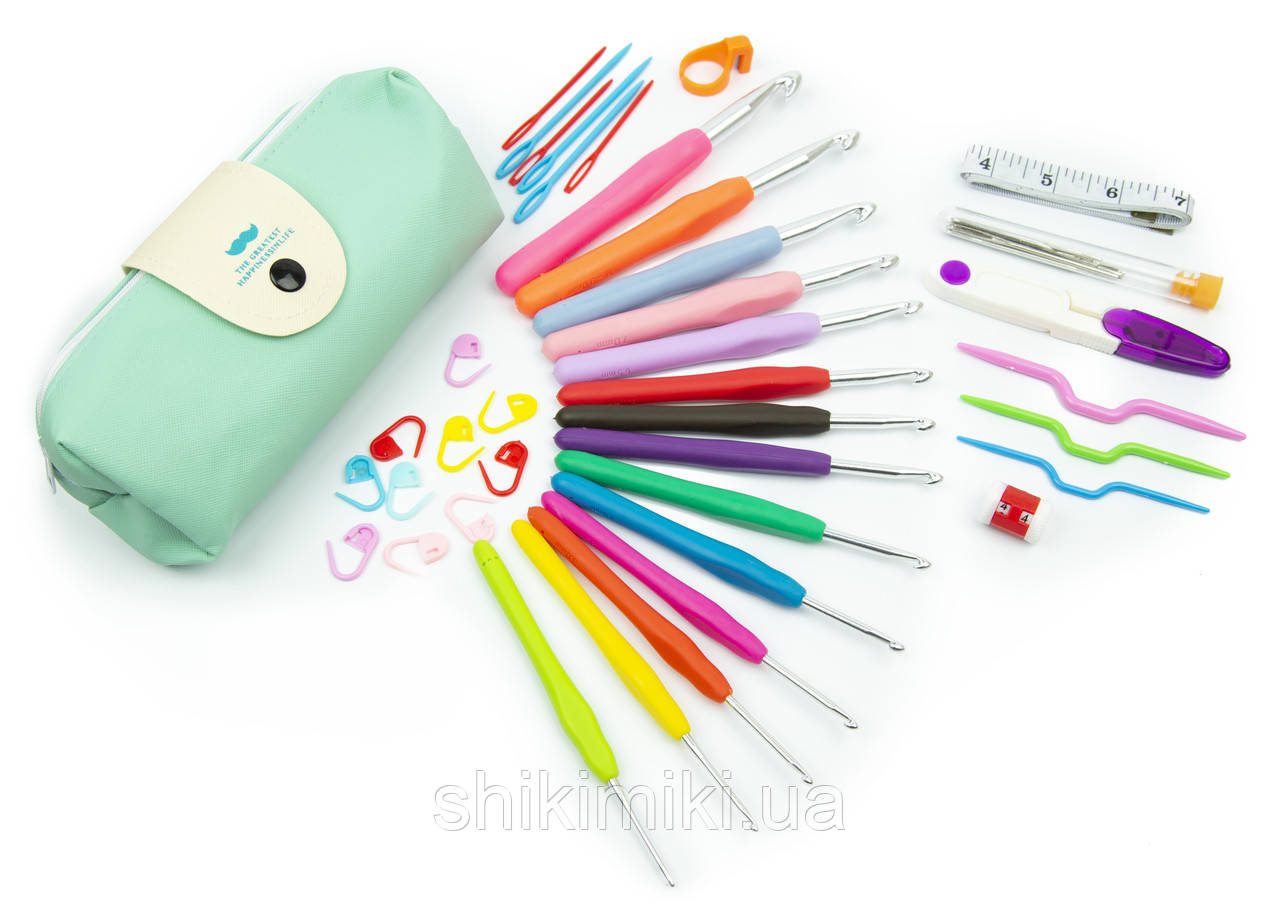 Набор инструментов KOKNIT для ручного вязания в подарочном чехле