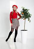 Жіноча спідниця-шорти з якісної вовни