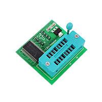 10шт 1.8 V перетворювач спалаху SPI SOP8 корпусі dip8 перетворення материнської плати MX25 W25 адаптер модуль