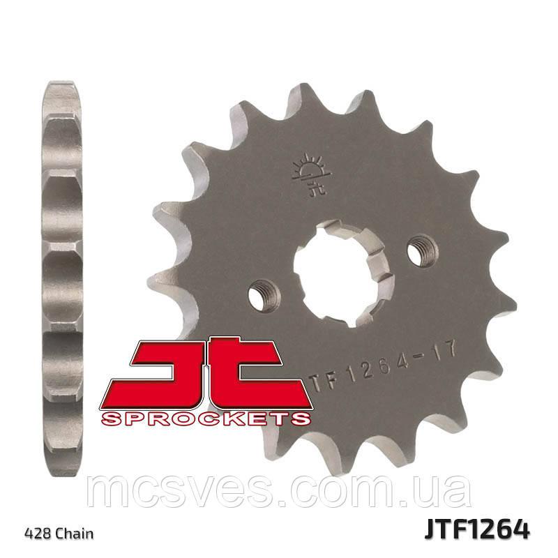 Зірка сталева передня JT Sprockets JT JTF1264.14