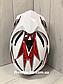 Шлем кроссовый для Мотокросса, Квадроцикла, Мотошлем Dualla Sport +ПОДАРКИ Перчатки, Маска, фото 6