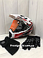 Шлем кроссовый для Мотокросса, Квадроцикла, Мотошлем Dualla Sport +ПОДАРКИ Перчатки, Маска, фото 2