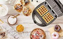 Орешница-вафельница-гриль 4в1 Crownberg CB 1074, фото 2