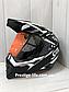 Шлем кроссовый для Мотокросса, Квадроцикла, Мотошлем Dualla Sport +ПОДАРКИ Перчатки, Маска, фото 3