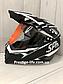 Шлем кроссовый для Мотокросса, Квадроцикла, Мотошлем Dualla Sport +ПОДАРКИ Перчатки, Маска, фото 5