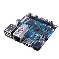 Банан ПІ БПІ-м2+ Н3 чотирьохядерних процесорів Cortex-A7 і Н. 265/HEVC в 4K і 1 ГБ DDR3 8 ГБ внутрішньої