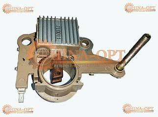 Реле регулятор генератора (шоколадка + щетки) Чери Заз Форза АмулетФЛ Е5 ЭлараФЛ Аризо3 1.5 МТ