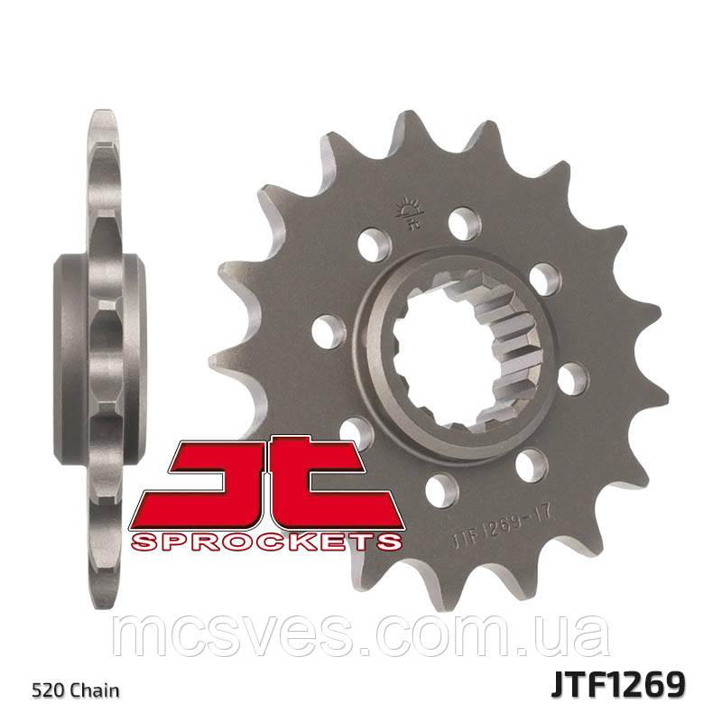 Звезда стальная передняя JT Sprockets   JT JTF1269.16