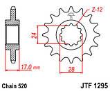 Звезда стальная передняя JT Sprockets   JT JTF1295.15, фото 2