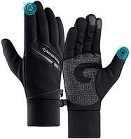 Теплые перчатки для сенсорных экранов Golovejoy с карманом, фото 1