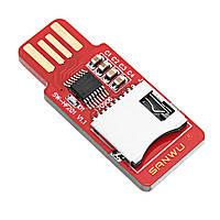 10шт SANWU HF201 доступний для читання і запису TF кард-рідер мікро-SD-карта мобільного телефону модуль