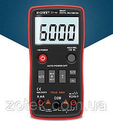 ZOYI ZT-A6 Защищённый Мультиметр цифровой тестер с термопарой ( RM408B )