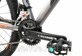 Горный Велосипед Crosser MT-042  27.5 (17) 2*9S гидравлика, фото 3
