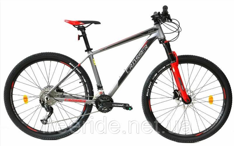 Горный Велосипед Crosser MT-042  27.5 (17) 2*9S гидравлика