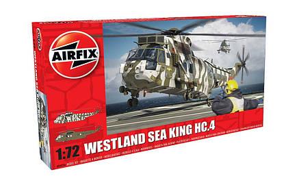 WESTLAND SEA KING HC.4. Сборная модель вертолета в масштабе 1/72. AIRFIX 04056, фото 2