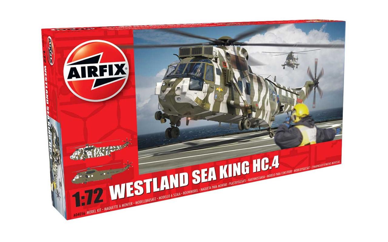 WESTLAND SEA KING HC.4. Сборная модель вертолета в масштабе 1/72. AIRFIX 04056