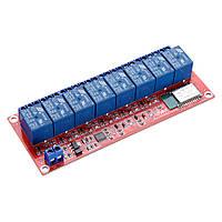 8-канальний модуль Bluetooth пульт дистанційного керування мобільного телефону реле управління для розумного