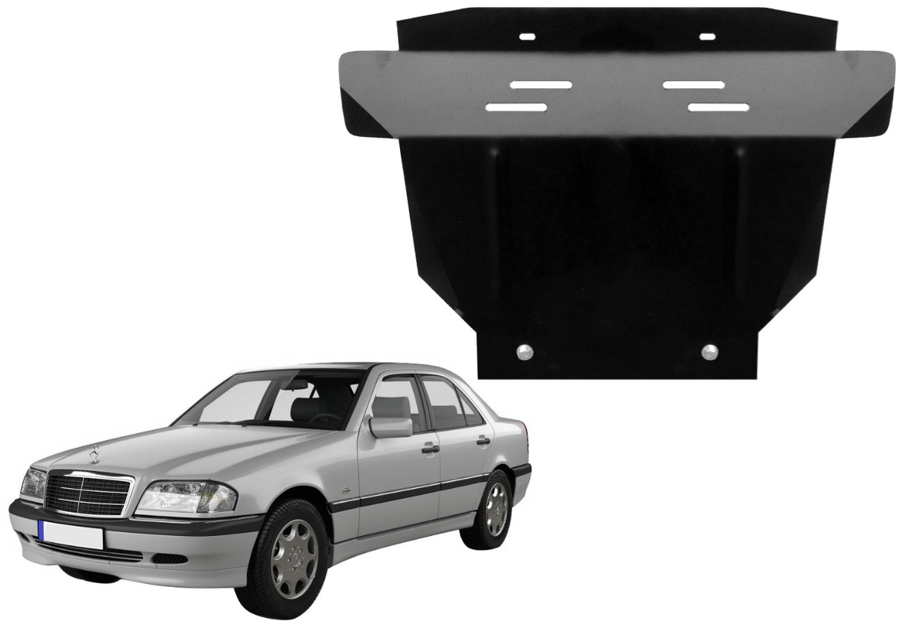 Защита двигателя Mercedes C W202 1993-2000
