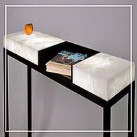 Дизайнерские столы из оникса с подсветкой, цена от производителя., фото 1