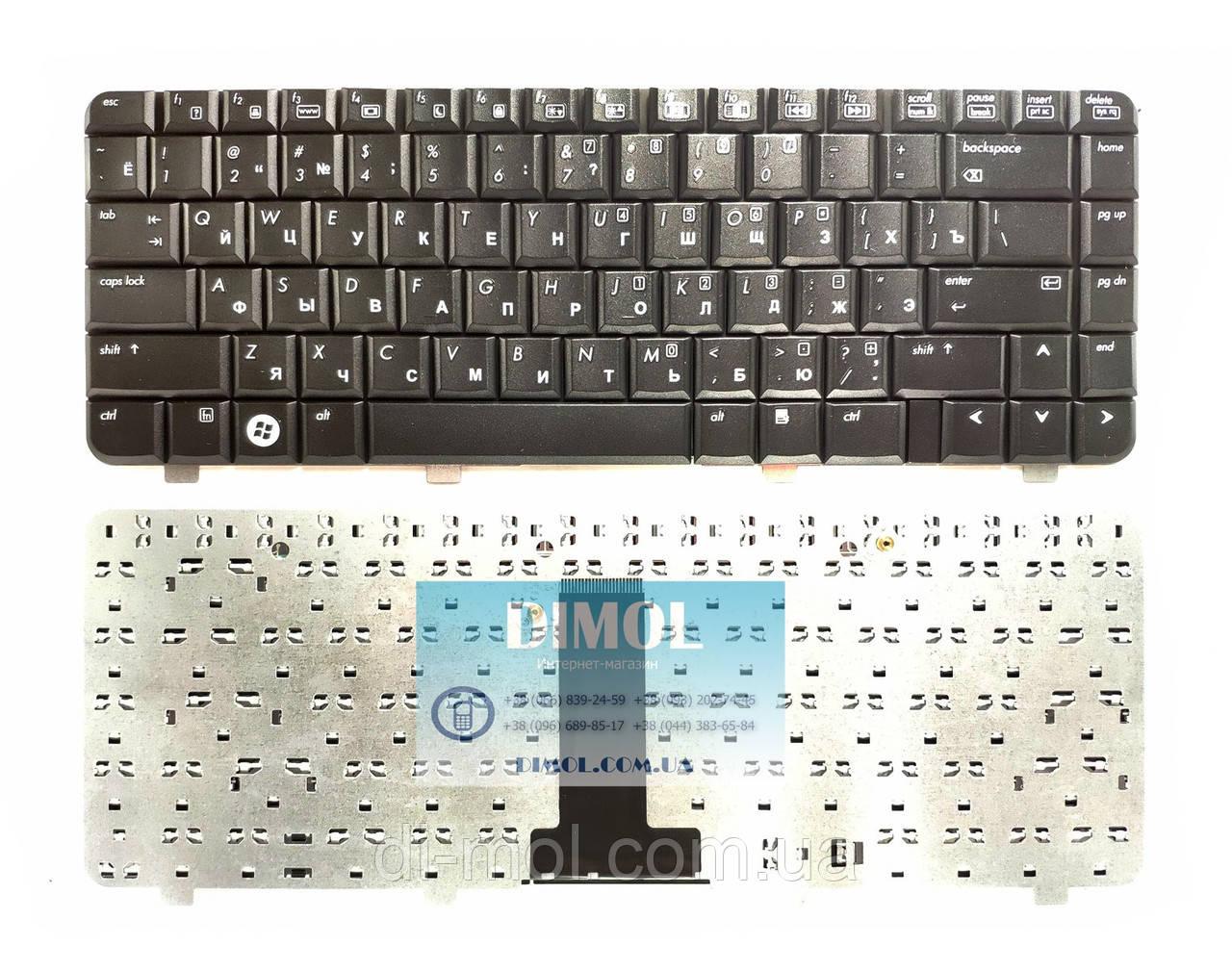 Оригинальная клавиатура для HP Compaq 510, 530 series, black, ru