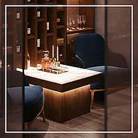 Столы с подсветкой из оникса., фото 1