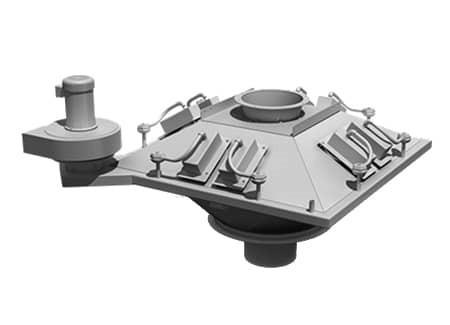 Система фильтрации телескопического погрузчика