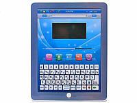 Детский развивающий, обучающий планшет 7320 на русском и английском языках, 32 функции, голубой