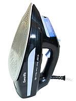 Распродажа! Паровой утюг Rainberg RB-6311 черный, ручной утюг с керамической подошвой для одежды с доставкой