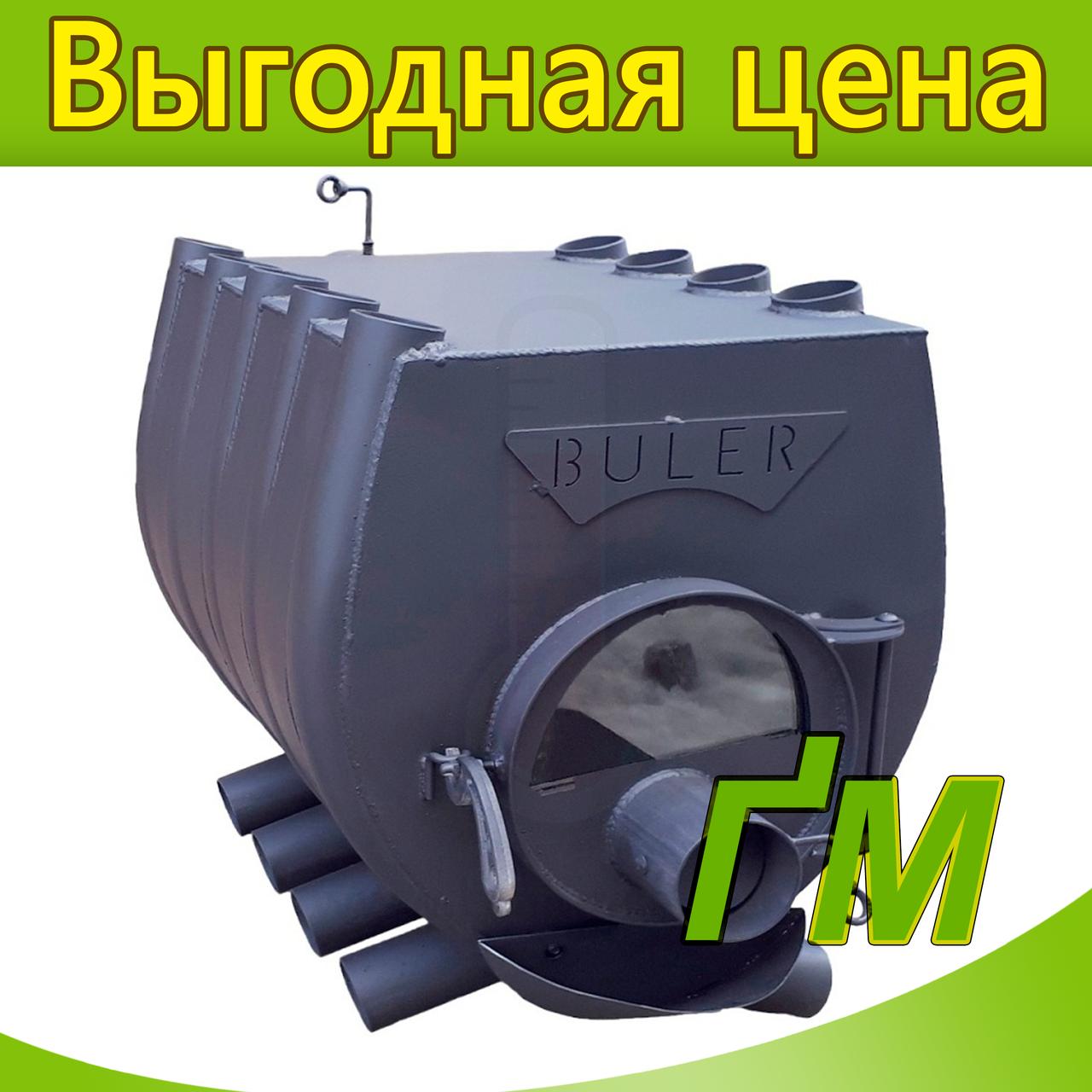 """Печь-булерьян """"Buller"""" Тип-02 со стеклом"""
