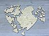 Пазлы в форме сердце из фанеры (2285), фото 2