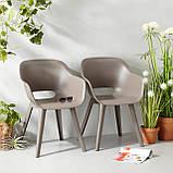 Комплект садовой мебели Allibert by Keter Akola Lima Dining Garden Set Cappuccino ( капучино ), фото 10
